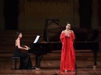 GANCEDO, Mercedes and MIRALLES, Beatriz (piano) (c)Antoni Bofill