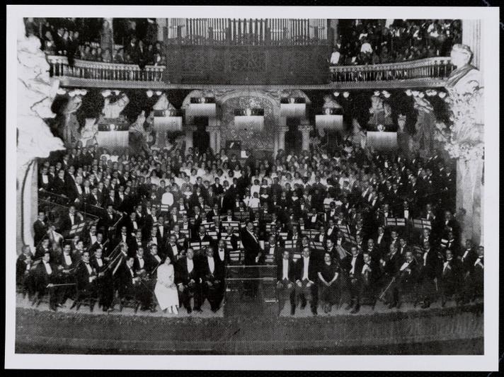 Passió segons sant Mateu 1921-concert 6 març PMC- crèdit CEDOC