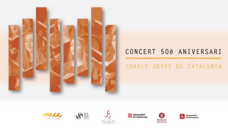 50è aniversari de la Federació Corals Joves de Catalunya