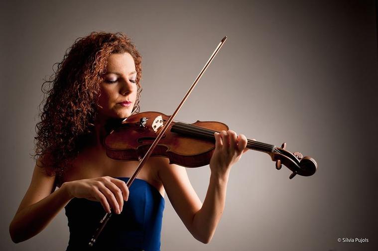 Anna Urpina, violí