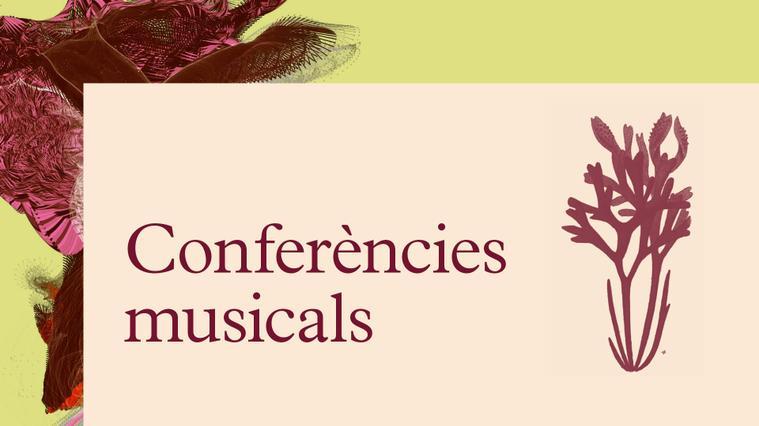 Conferencies musicals 2021-22