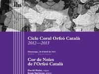 Cor de noies Cicle Coral Orfeó Català